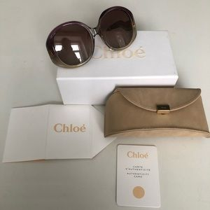 Brand new CHLOE sunglasses with box and tags